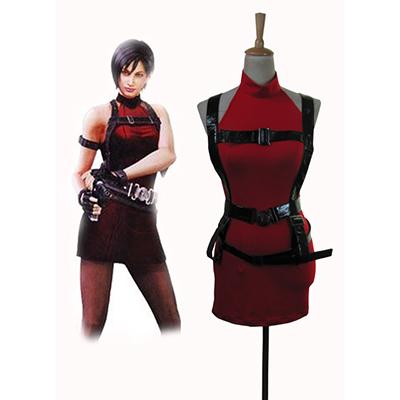 Resident Evil 2 Játék Ada Wong Cosplay Nők Jelmez Karnevál