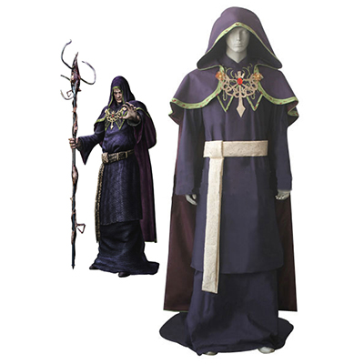 Resident Evil 4 Game Osmund Saddle Cosplay Costume