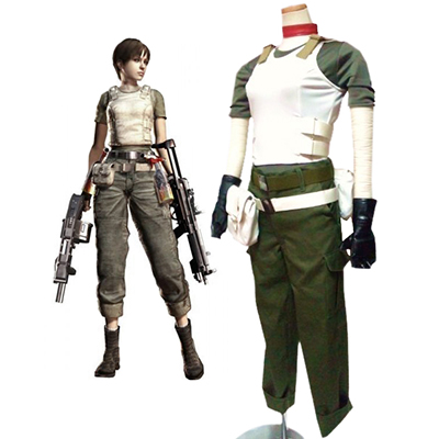 Resident Evil Játék Rebecca Chambers Cosplay Jelmez Karnevál