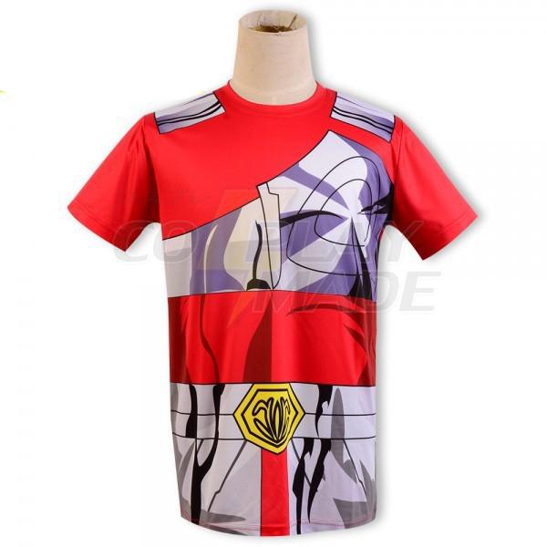 Saint Seiya Bronze Saint Seiya Pegasus Cloth Summer T-shirt Anime Cosplay Kostume Fastelavn
