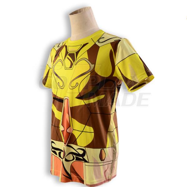Saint Seiya Gold Saint Saga Gemini Golden Ruházat Summer T-shirt Cosplay Jelmez Karnevál