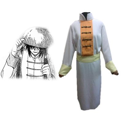 Saint Seiya: The Lost Canvas Libra Dohko Uniform Cosplay Kostyme Karneval