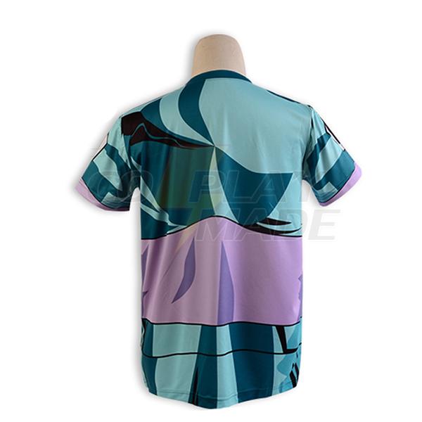 Saint Seiya Bronze Saint Shiryu Dragon Kangas Kesä T-shirt Cosplay asut Naamiaisasut