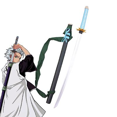 Bleach Hitsugaya Toushirou Zanpakutou Hyourinmaru Cosplay Wooden Weapons