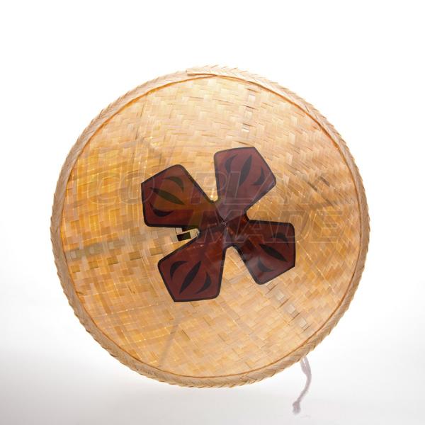 Bleach Gotei Thirteen Kyoraku Shunsui Bamboo Hattu Cosplay Rekvisiitta Naamiaisasut