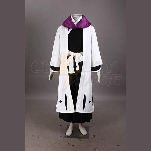 Bleach Gotei Thirteen Kurotsuchi Mayuri Captain of the 12th Division Soul Reaper Kimono Cosplay asut Naamiaisasut