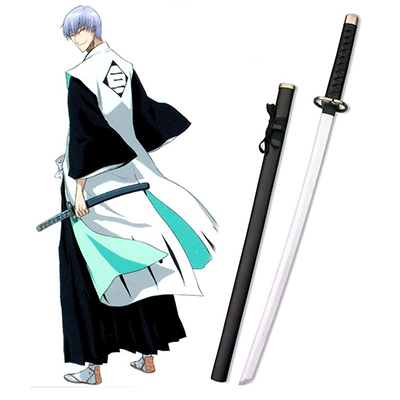 Bleach Ichimaru Gin Zanpakutou Shinsou Cosplay Wooden Weapons