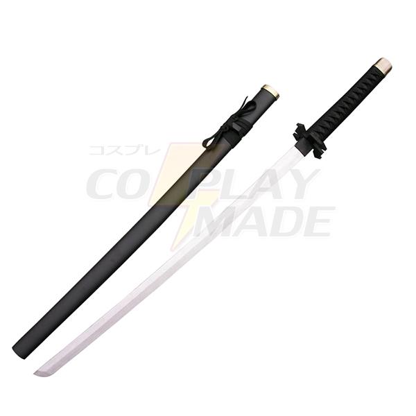 Bleach Ichigo Kurosaki Zanpakutou Tensa Zangetsu 2end Cosplay Wooden Weapons