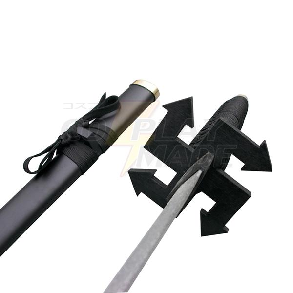 Bleach Ichigo Kurosaki Zanpakutou Tensa Zangetsu 2end Cosplay Træ Weapons Fastelavn