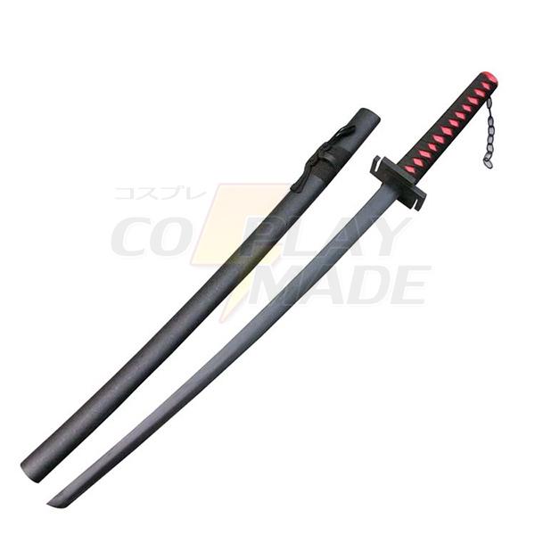 Bleach Ichigo Kurosaki Zanpakutou Tensa Zangetsu Cosplay Træ Weapons Fastelavn
