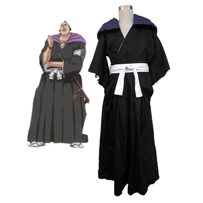 Bleach Gotei Thirteen Marechiyo Omaeda Lieutenant of the 2nd Division Soul Reaper Kimono Cosplay Costumes