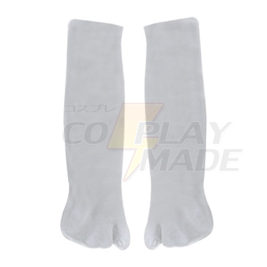 Bleach Two Toe Socks Cosplay Rekvisiitta Rekvisiitta Naamiaisasut