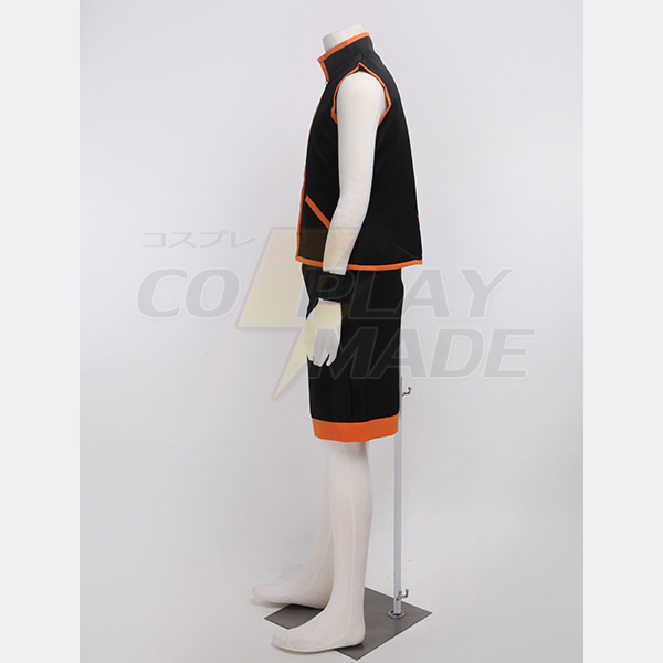 Shaman King Yoh Asakura Shaman Fighting Egyenruha Cosplay Karnevál