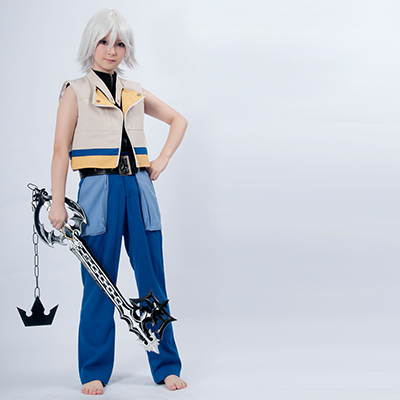 Kingdom Hearts Riku Uniforme Jeu Cosplay Costume Carnaval
