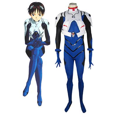 Neon Genesis Evangelion Ikari Shinji EVA-01 Test Type Meisters Uniform Cosplay Kostume Fastelavn