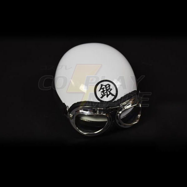 Gintama Silver Soul Gintoki Sakata Electric motor car Hat Helmet Anime Accessories