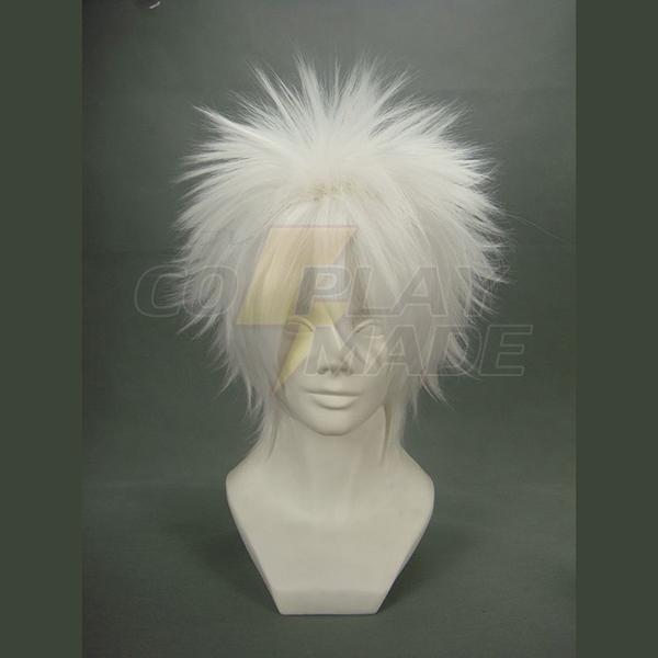 Gintama Silver Soul Fehér Demon\'s Birth Sakata Gintoki Fehér Cosplay Paróka Karnevál