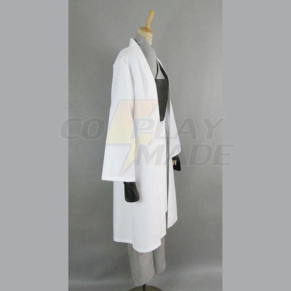 Gintama Silver Soul Valkoinen Demon\'s Birth Sakata Gintoki Kimono Cosplay asut Naamiaisasut