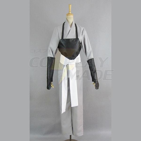 Gintama Silver Soul Fehér Demon\'s Birth Sakata Gintoki Kimono Cosplay Jelmez Karnevál