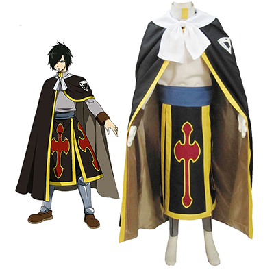 Fairy Tail Dragon Slayer Shadow Dragon Rogue Cheney Ryos Cosplay Kostym Karneval