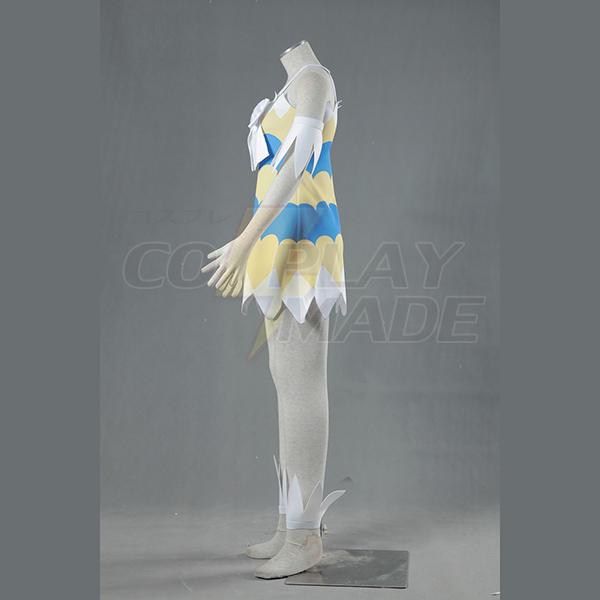 Fairy Tail Dragon Slayers Wendy Marvell Tytöt Dress Cosplay asut Naamiaisasut