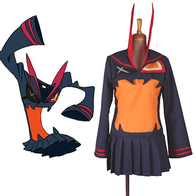 Kill la Kill Senketsu fresh blood Matroos Eenvormig Cosplay Kostuum Carnaval Halloween