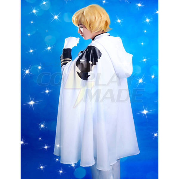 Seraph of the End Vampires Mikaela Hyakuya Univormu Cosplay asut Naamiaisasut