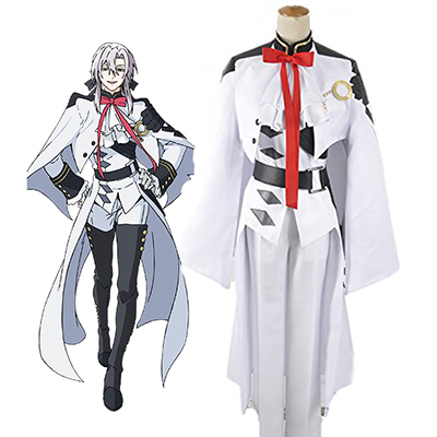 Seraph of the End Ferid Bathory Vampires Enhetlig Cosplay Kostym Karneval
