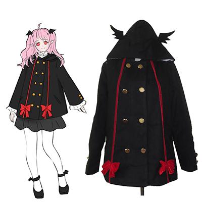 Seraph of the End Krul Tepes Spring Coat Anime Cosplay Kostume Fastelavn