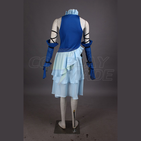 Final Fantasy X Yuna Singing Uniform Game Cosplay Costume