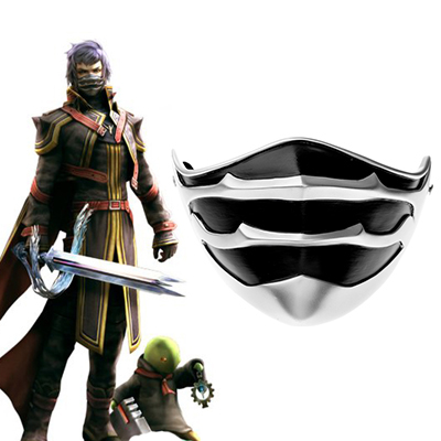 Final Fantasy Type-0 Suzaku Peristylium Class Zero Captain kurasame Mask Cosplay Accessories