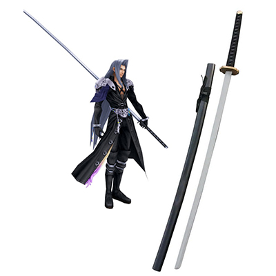 Final Fantasy VII Sephiroth Odachi Cosplay Fa Fegyverek Karnevál