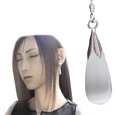 Final Fantasy VII: Advent Children Tifa Lockhart\'s Earring Játék Cosplay Kellékek Karnevál