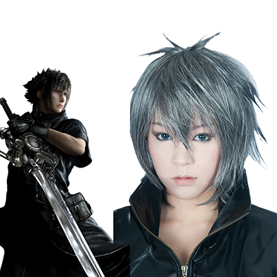 Final Fantasy XV 15 Spiel Noctis Faschings Cosplay Perücken