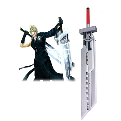 Final Fantasy VII: Advent Bambini Cloud Strife Fusion Spada Cosplay Legno Armi Carnevale