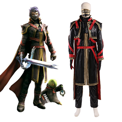 Final Fantasy Type-0 Suzaku Peristylium Class Zero Captain kurasame Cosplay asut Naamiaisasut