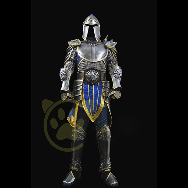 World of Warcraft WOW Stormwind City Guard Cosplay Kostume Fastelavn