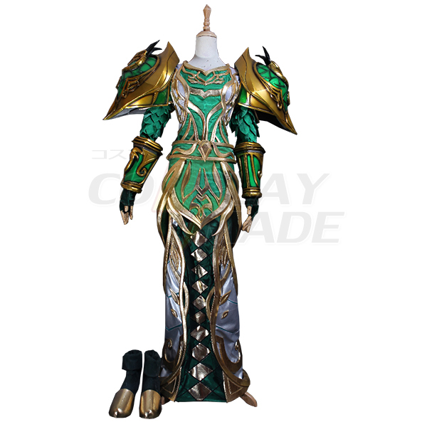 World of Warcraft WOW Dryad T3 / Tier 3 Cosplay Jelmez Karnevál