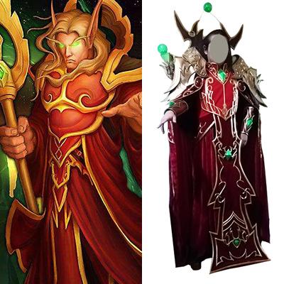 World of Warcraft WOW Kael\'thas Sunstrider Cosplay Jelmez Karnevál