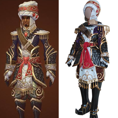 World of Warcraft WOW Wrathion Cosplay asut Version One Naamiaisasut