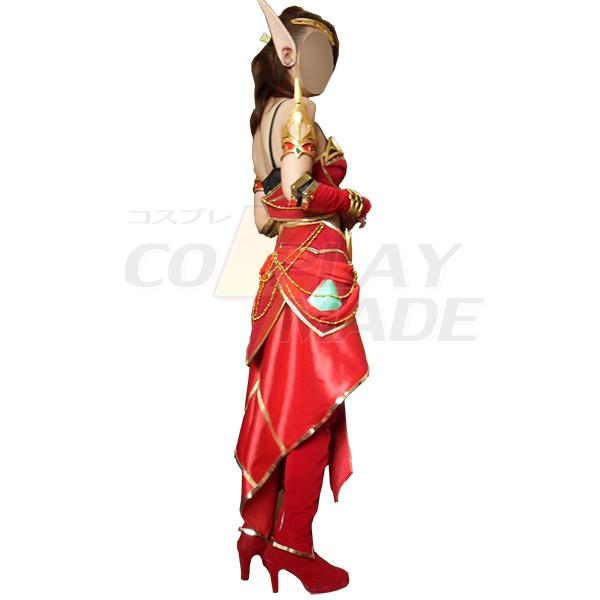 World of Warcraft WOW Blood Mage CG Cosplay asut Naamiaisasut