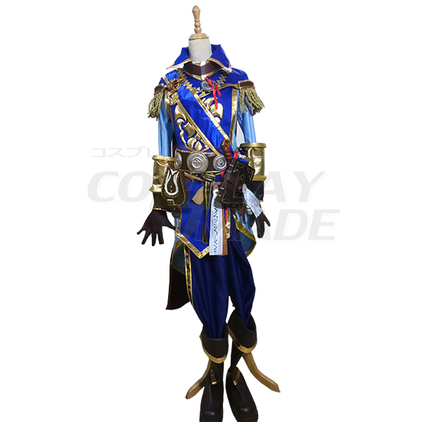 World of Warcraft WOW Anduin Wrynn Cosplay asut Naamiaisasut