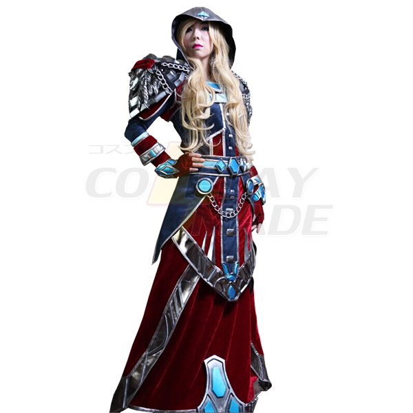 World of Warcraft WOW Mage S3 Cosplay Costume