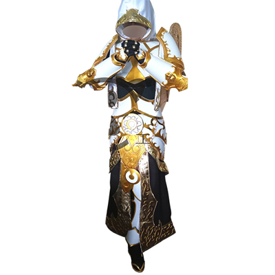 World of Warcraft WOW Tier 5 Mage Cosplay Kostyme Karneval