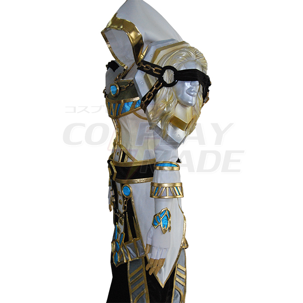 World of Warcraft WOW Tier 6 Mage Cosplay Jelmez Karnevál