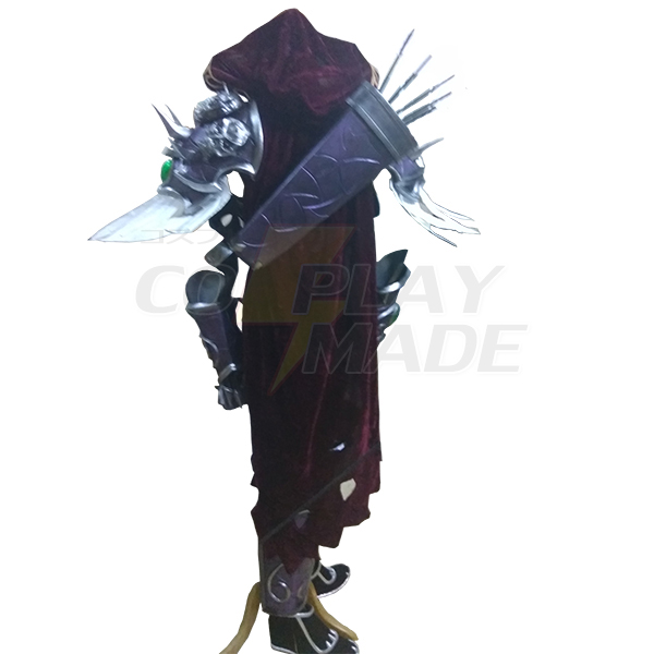 World of Warcraft WOW Sylvanas Windrunner Lich King Cosplay Costume