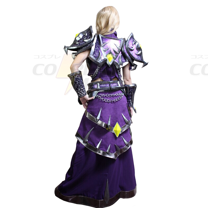 World of Warcraft WOW Tier 10 Mage Cosplay asut Naamiaisasut