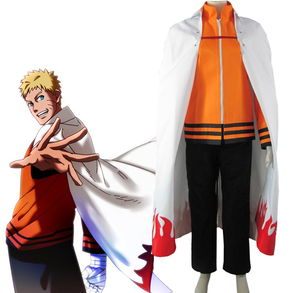Boruto: Naruto Next Generations The last-Uzumaki Naruto Seventh Hokage Cosplay asut Naamiaisasut