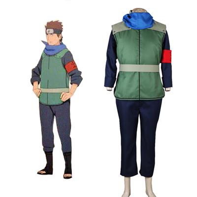 Boruto: Naruto Next Generations Sarutobi Konohamaru Konoha Ninja Univormu Cosplay asut Naamiaisasut