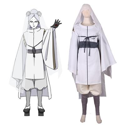 Boruto: Naruto Next Generations Ootutuki Momoshiki Kimono Cosplay asut Naamiaisasut